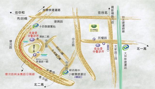 思邈堂中醫診所位置圖